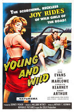 "Young and Wild Movie Poster Replica 13x19"" Photo Print"
