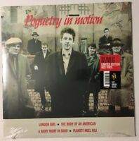 Pogues Poguetry In Motion Limited Red Vinyl Lp