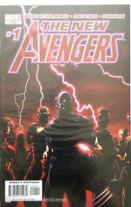 NEW AVENGERS BRIAN MICHAEL BENDIS 1 A 10 NM+ - AVENGERS (81) 2006 TRADING CARDS