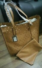 Atmosphere Tan Tote Shopper/Tote bag with separate Zip bag attached Rrp £10.00