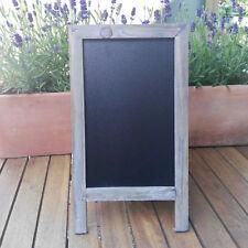 Rustikale 32x18cm Braun Kreidetafel Standtafel Deko Klapptafel Holztafel Tafel