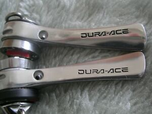SHIMANO DURA ACE SIS GEAR LEVER SHIFTERS BRAZE-ON VINTAGE EXCELLENT