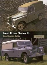 Land Rover Series 3 Specification Guide (Serie III 88 109 Chassis) Buch book