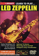 LICK LIBRARY Learn to Play LED ZEPPELIN STAIRWAY TO HEAVEN Tutor GUITAR DVD