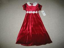 """NEW """"Ivory Bows"""" Velvet Dress Girls Winter Clothes 5 Christmas Boutique Holiday"""