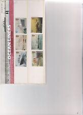 2004 ROYAL MAIL Presentation Pack transatlantici REGINE DEL MARE MINT decimale ST