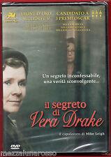 Il segreto di Vera Drake (Mike Leigh) DVD sigillato