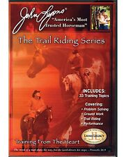 John Lyons The Trail Riding Series 3 DVDs - New & Sealed fm Authorized Dealer