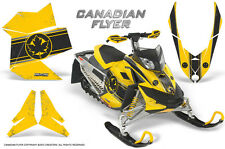 SKI-DOO REV XP SNOWMOBILE SLED GRAPHICS KIT WRAP CREATORX DECALS CAN FLYER BY