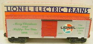 Lionel 6-9491 1986 Christmas Boxcar NIB