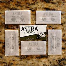 5 Astra Superior Platinum Double Edge Razor Blades