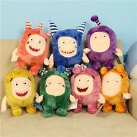 "NEW Oddbods Stuffed Plush Soft Toys 7PCS Kids Bubbles PP Cotton Doll 30cm/12"""