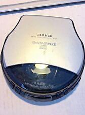 1998 Aiwa XP-570 Portable CD Player Anti-Shock System E.A.S.S. Plus