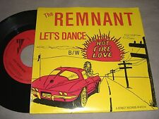 "THE REMNANT Let's Dance/Hot Fire Love 7""single VINYL 45 record RARE PA indie NM"