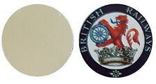 BRITISH RAILWAYS METAL GOLF BALL MARKER DISC 25MM DIAMETER