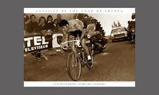 Tour de France EDDY MERCKX DOMINATES c.1971 Premium Cycling POSTER Print