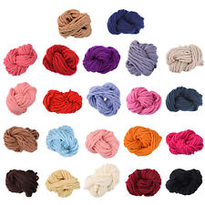 Anti-pilling Thick Acrylic Yarn Soft Scarf Knitting Wool Hand-knitted Wool