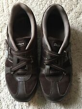 Skechers Velcro Leather Upper Shoes for