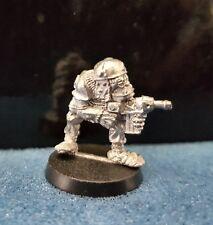 Warhammer40k rogue trader Space Ork Raider Trooper 2 metal oop unpainted 1987