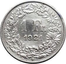Pièces de monnaie d'Europe de l'Ouest suisses