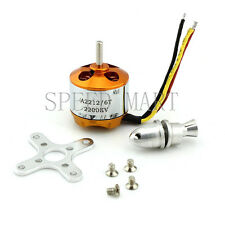 Airplane A2212 KV2200 Brushless Outrunner Motor For RC Aircraft Helicopter