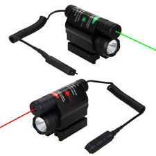 Red/Green Laser Sight Combo Tactical LED Light   Flashlight With Quick Release