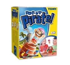 Tomy Pop-Up Pirate Barrel Game (Ages 4+) - Brand New!
