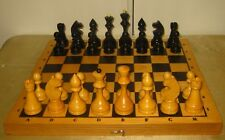 Soviet Wooden Chess Set. Ussr