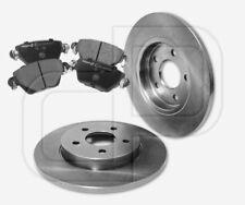 2 Bremsscheiben + 4 Bremsbeläge JAGUAR X-Type bis Fgst. E73993 hinten 280 mm
