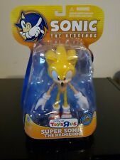 Super Sonic the Hedgehog Super Posers figure by Jazwares First Release Toys R Us