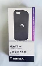 New BlackBerry Hard Shell Cover Case for BlackBerry Q10 Black Original OEM