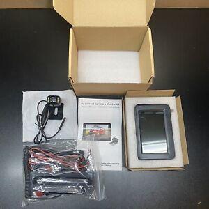 Car Rear & Front Camera & Monitor Kit- OPEN BOX - Free Shipping
