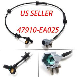 Front ABS Wheel Speed Sensor For Nissan Pathfinder Xterra Frontier 47910-EA025