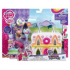 My Little Pony Friendship is Magic Pinkie Pie Donut Shop Playset Ages 3+ New Toy