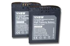 2x batería para PANASONIC LUMIX DMC-FZ35 FZ38 FZ50
