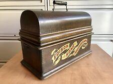New ListingEdison Home Banner Front Model A Cylinder Phonograph Case. Original. No Reserve