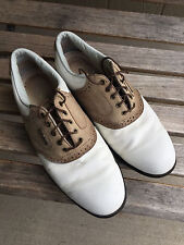 Womens FootJoy Oxford Saddle Golf Shoes Size 7.5 M