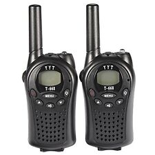 5KM Range Walkie Talkie T-668 Mini Pocket 8 CH PMR Transceiver Two-way Radio