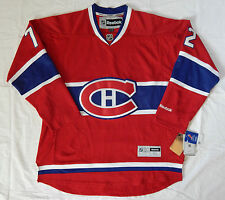 REEBOK MONTREAL CANADIENS #72 COLE HOCKEY NHL JERSEY SIZE ADULT XL NEW WITH TAGS