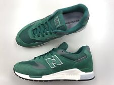 Brand New Men New Balance ML840AH green classic suede running shoes vtg 0135789