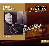"CD x 2 PHILIPS Great Pianists 20th Century 89: 456 961-2 ""Artur Schnabel"" Beetho"