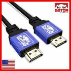 Ultra High Speed HDMI V2.0 Cable HDTV LED LCD 3D 2160P 4K X2K HDR PS4 BLURAY LOT