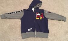 Boys Disney Store Mickey Mouse Hoodie Size 4 Years