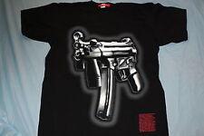 Rare Officially Licensed Arme Machine Gun Airbrushed Look Urban Cut Mens Shirt L