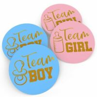 24Pcs Boys Girls Vote Stickers Baby Shower Game Gender Reveal Party Decoration