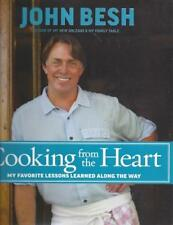 Cooking from the Heart: John Besh Celebrity Chef Cookbook  SIGNED