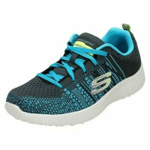 Boys Skechers Lace Up Trainers 'In The Mix 97303'