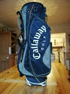 7 Division Callaway XTT Warbird X Stand Carry Golf Clubs Bag