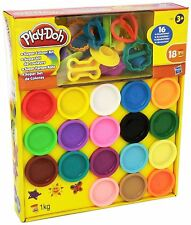 Play-Doh Super Rainbow Colour Kit 18 Tubs Dough Set Children's Creative Toy Gift