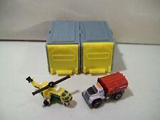 2 Tonka Tiny'S Blind Box Micro Mini Vehicles City Water Truck Water Chopper